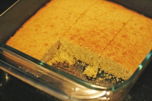 This is exactly what my cornbread looked like.