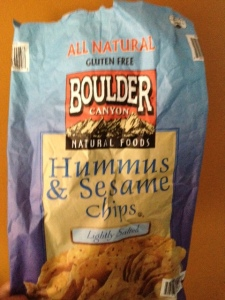 "These Hummus Chips are delicious, but are a tad salty, they were perfect as a ""breadcrumb"" substitute"