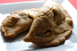 This is what my empanadas looked like